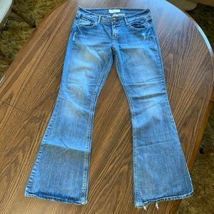 Distressed Maurices Jeans
